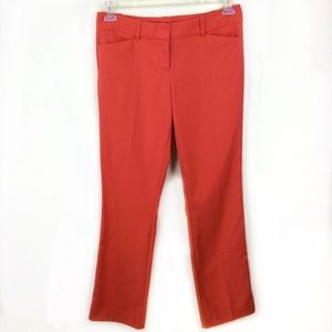 The Limited Drew Fit Dress Pants Coral
